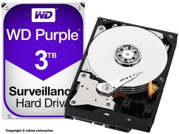 Western Digital HDD  WD30PURZ Purple Surveillance 3TB